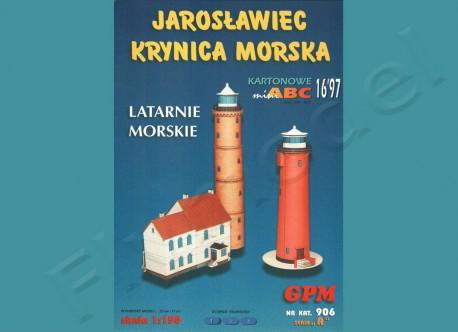 Latarnie morskie Jarosławiec Krynica M.