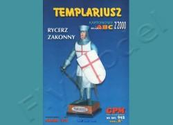 Rycerz zakonny Templariusz