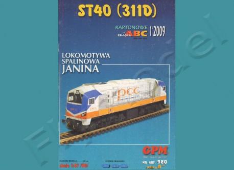 Lokomotywa spalinowa ST40 (311D)