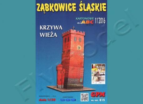 Krzywa wieża Ząbkowice Śląskie