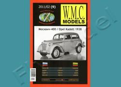 Moskwicz 400 / Opel Kadett 1938