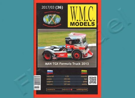 MAN TGX Formula Track 2013