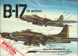 B-17 in action
