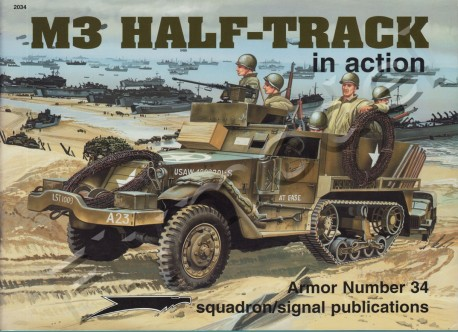 M3 Half-track in action