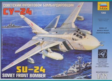 Soviet front bomber SU-24