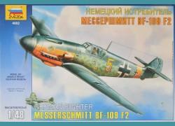 Messerschmitt BF-109 F2 + elementy fototrawione