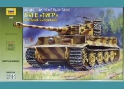 T-VI E Tiger + lufa metalowa