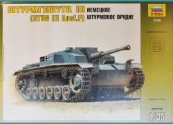 Stug III Ausf.F + elementy fototrawione
