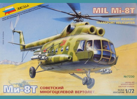 Mi-8T Soviet Assault Transport Helicopter