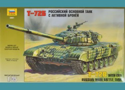 T-72B + elementy fototrawione