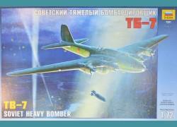 TB-7 Soviet Heavy Bomber